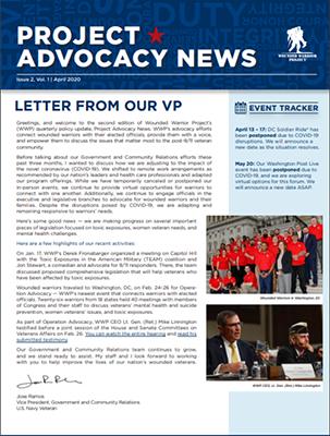 Project Advocacy News
