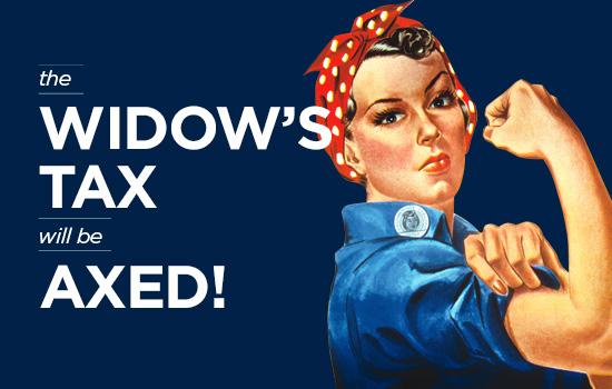 Widows-Tax-Axed 550x350