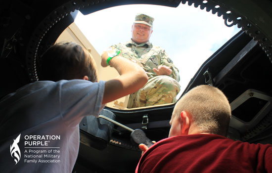 Operation Purple Chronicles: Military Kids Serve, Too